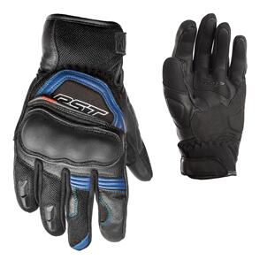 RST URBAN AIR  CE LEATHER GLOVE [BLACK/BLUE]